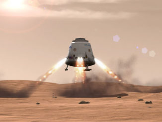 spacex launches mars mission