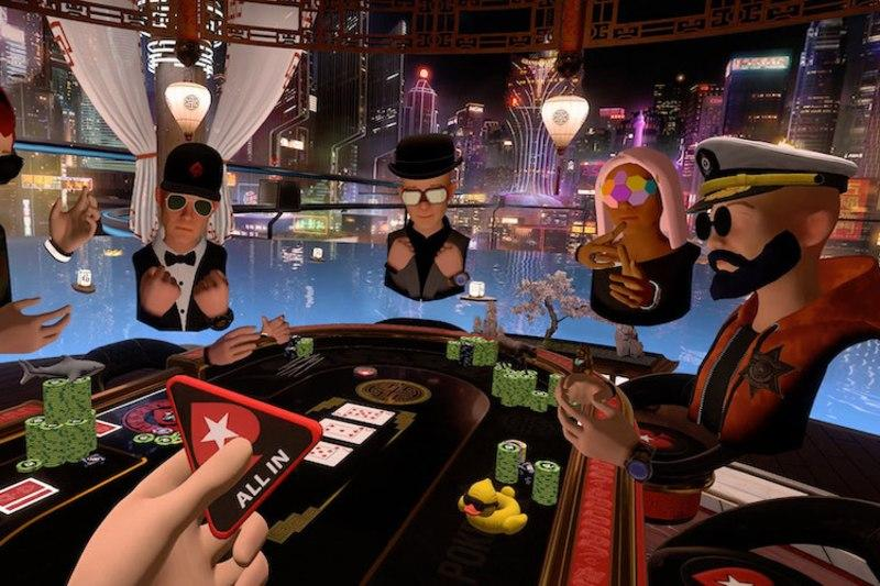 pokerstars augmented reality
