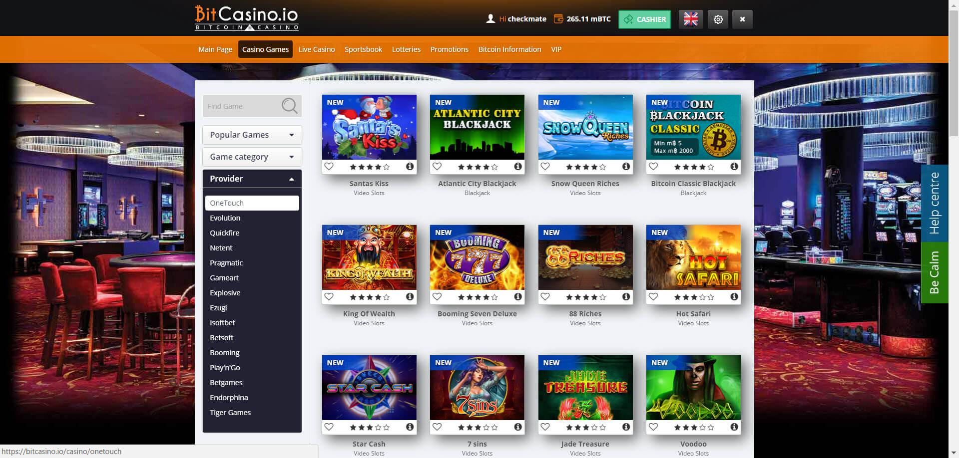 Bitcasino IO